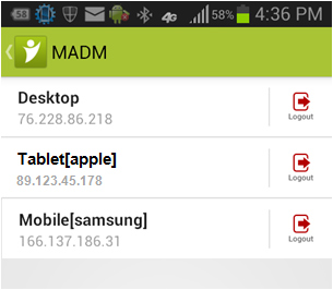 Multiple Active Device Manager